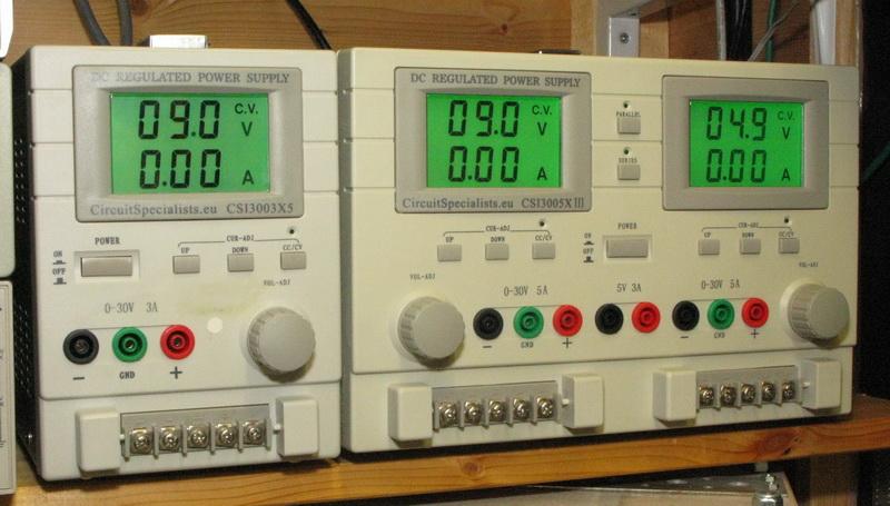 Electronics Csi3000 Series Bench Power Supply Cc Mode Kit