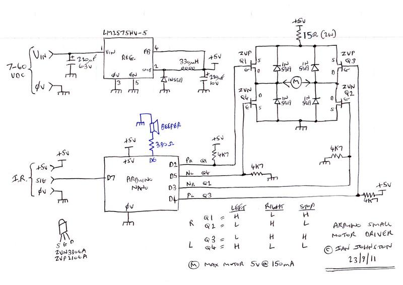 Project #006 - Denon Amplifier Motorized Volume Control Conversion