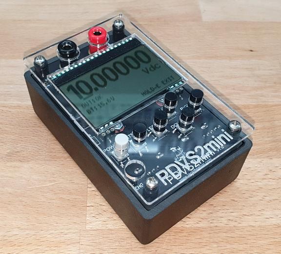 Electronics : Handheld Precision Digital Voltage Source - PDVS2mini 20bit